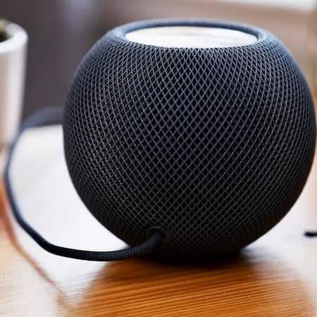 Black Apple HomePod Mini