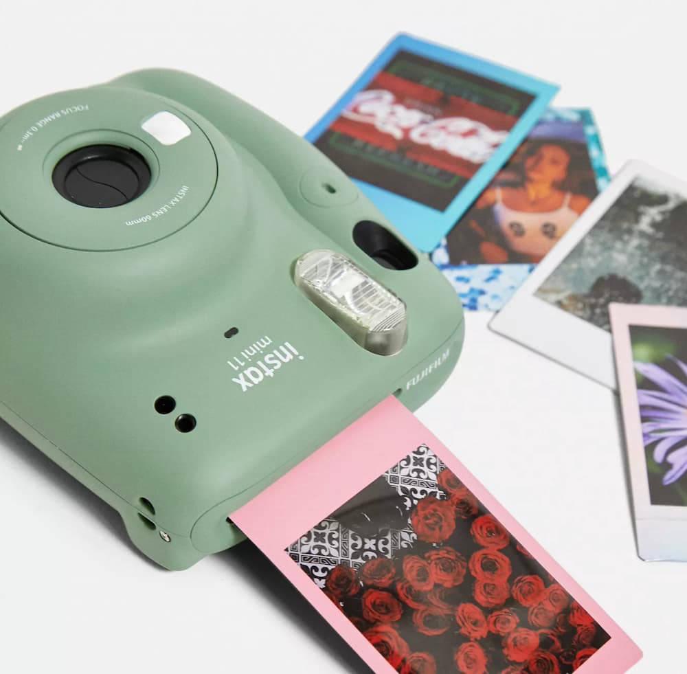 Fujifilm Instax Mini 11 with polaroid films