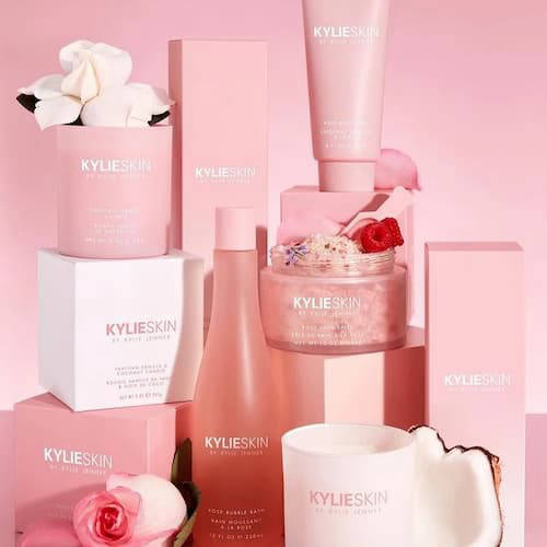 Kylie Skin skincare products