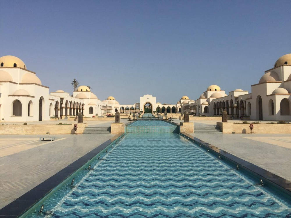 Architecture in Hurghada, Egypt