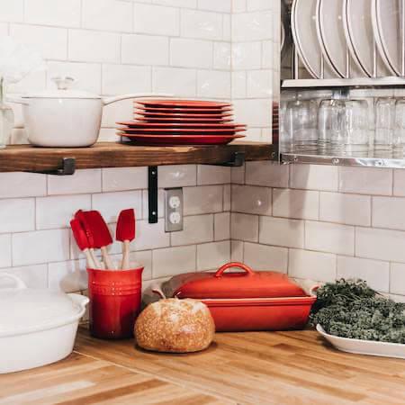 Le Creuset kitchenware