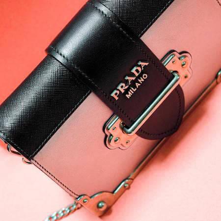 Prada branded purse