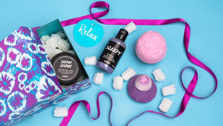 Lush Relax gift box