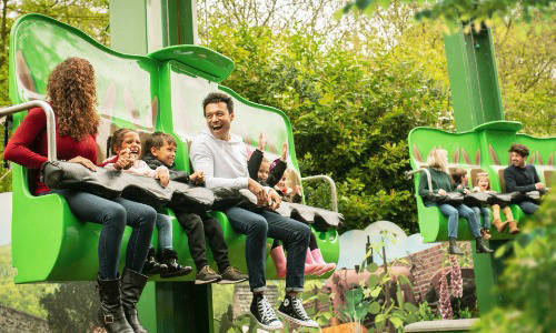 family in alton towers