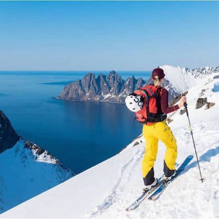Hiking and skiing in Norway's mountains