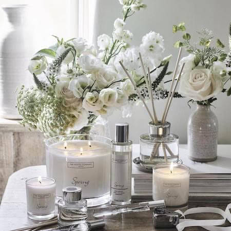 Homeware selection from The White Company