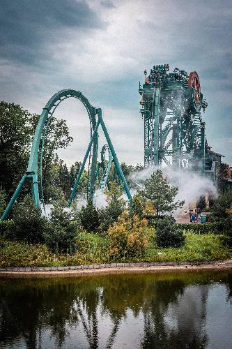 rollercoaster efteling