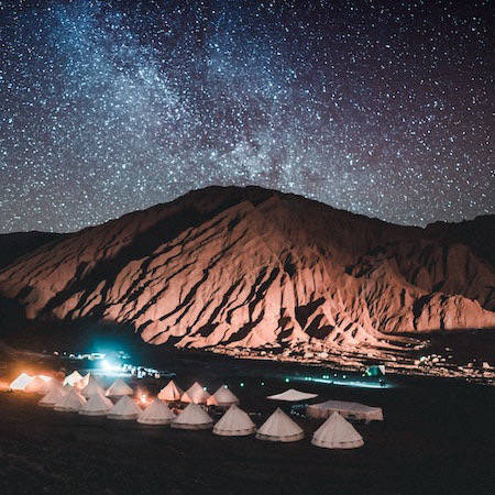 Basecamp in Chile