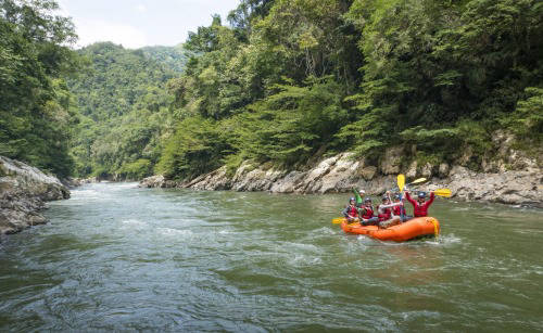 river rafting in colombia