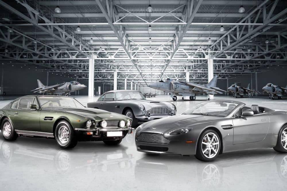 Aston Martin car collection
