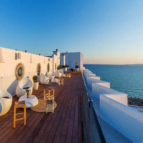 hm fiesta in mallorca with sea view