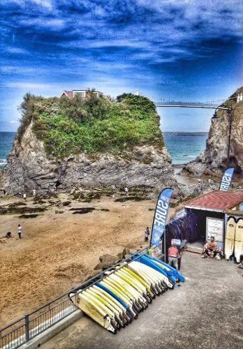 Surf shop on the beach