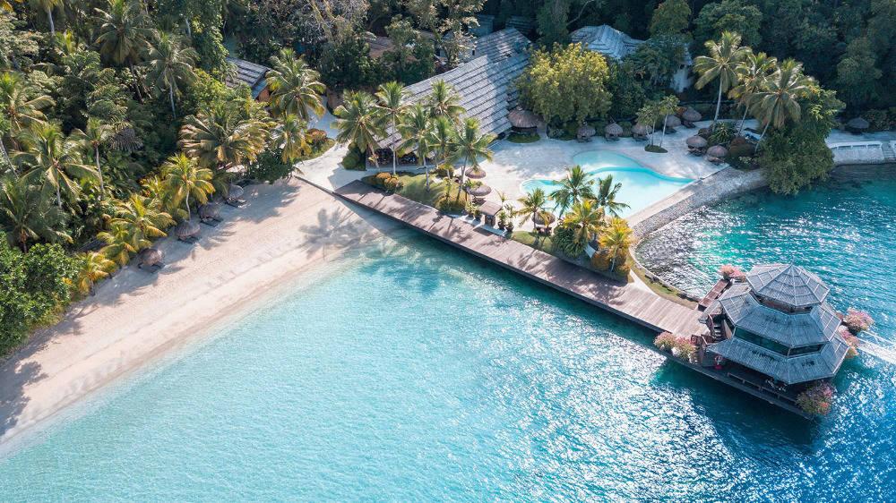 Philippines beach resort