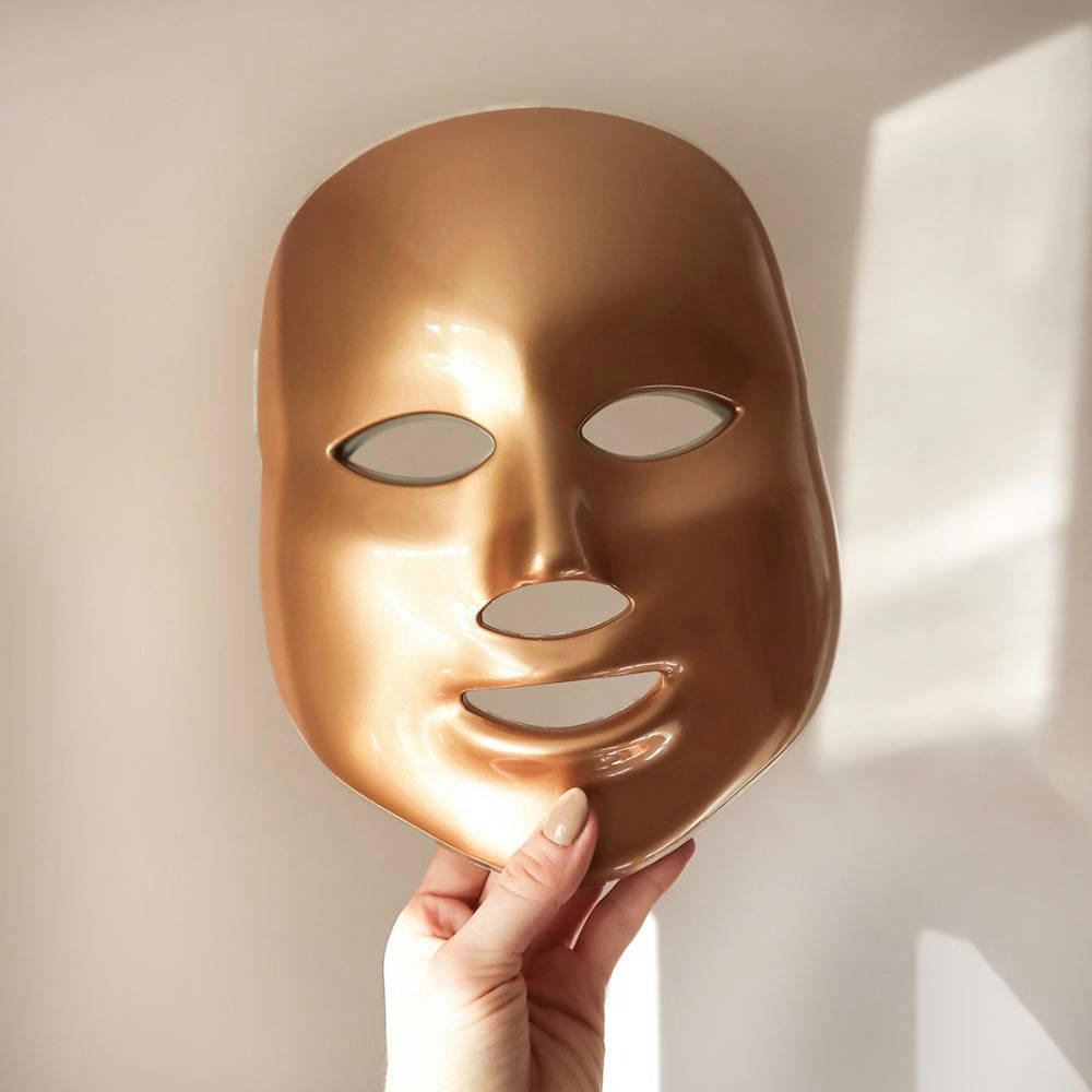 MZ Skin golden facial treatment mask