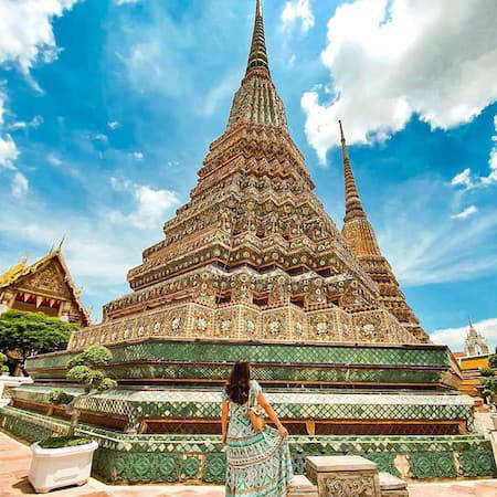 Golden temple in Bangkok