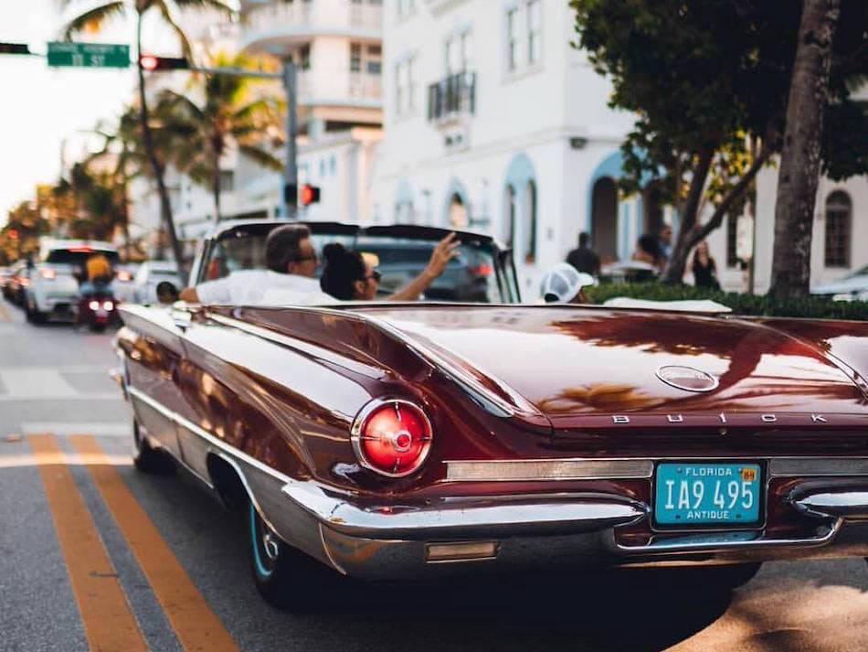 Buick car in Miami