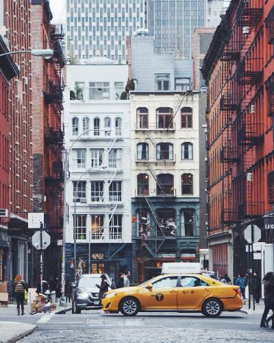 soho yellow cab