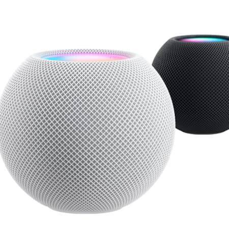 White Apple HomePod Mini