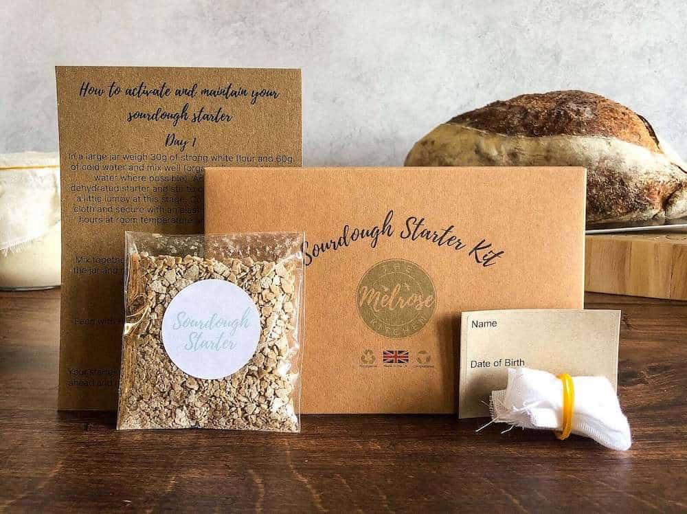The Melrose Kitchen's Original Sourdough Starter Kit