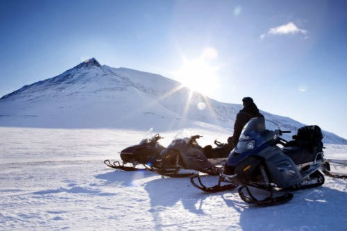 snowmobiling in norway