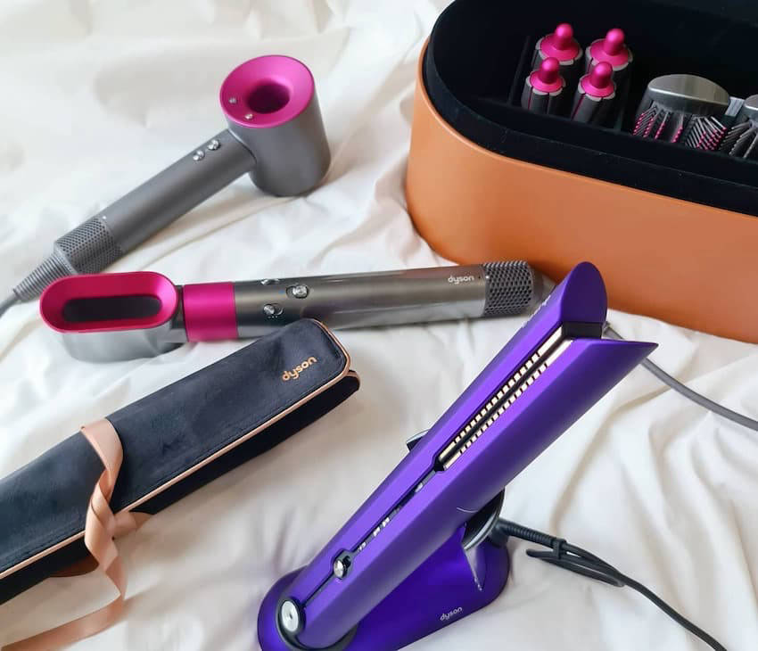 Dyson Supersonic hair dryer and Corrale hair straightener