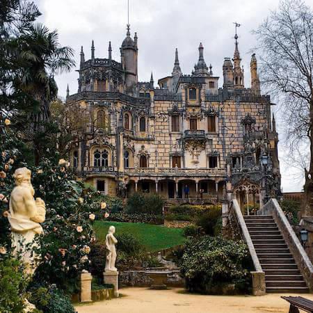 Regaleira Palace in Sintra