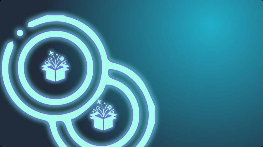 DAYMADE token logo on blue background