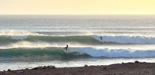 people surfing in morocco
